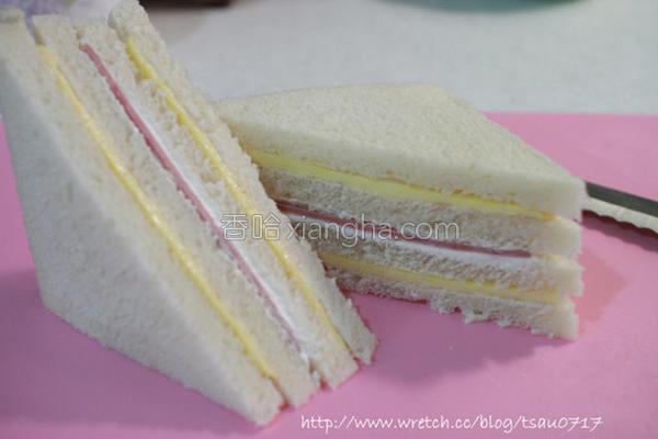 冰奶油三明治的做法