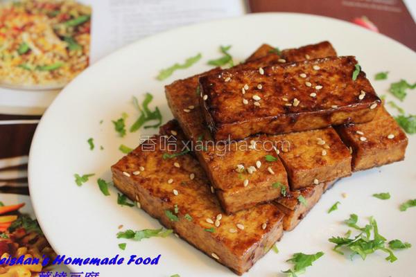 姜烧豆腐的做法