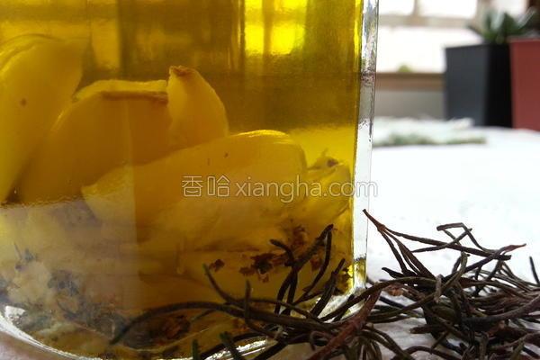 蒜头香草橄榄油的做法