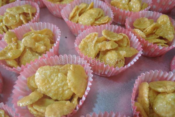蜂蜜黄金玉米片的做法