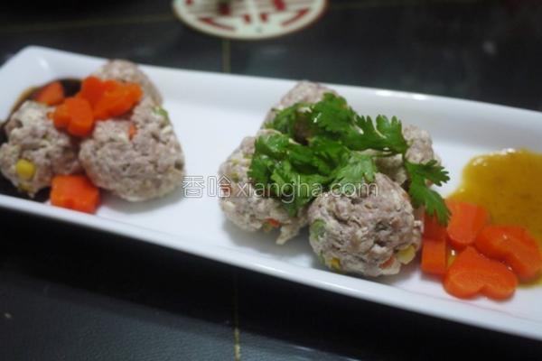 蔬腐肉丸的做法