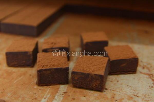 调温坚果生巧克力
