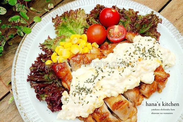 日式南蛮鸡肉的做法