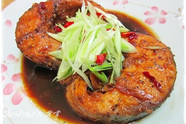 红烧青蒜乌鱼片的做法