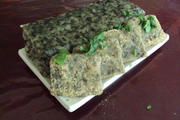 紫菜糯米糕的做法