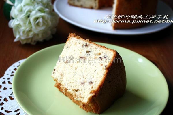 蜂蜜红枣戚风蛋糕的做法