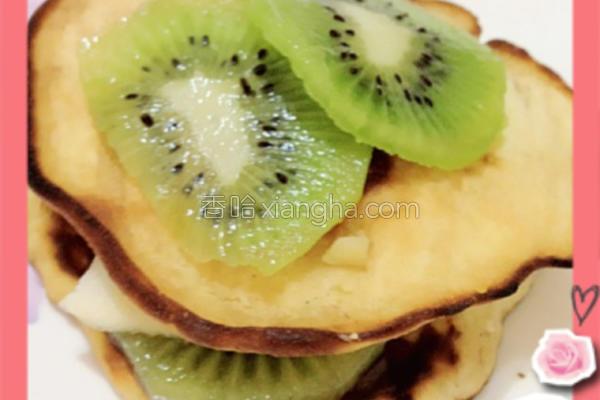 水果松饼的做法