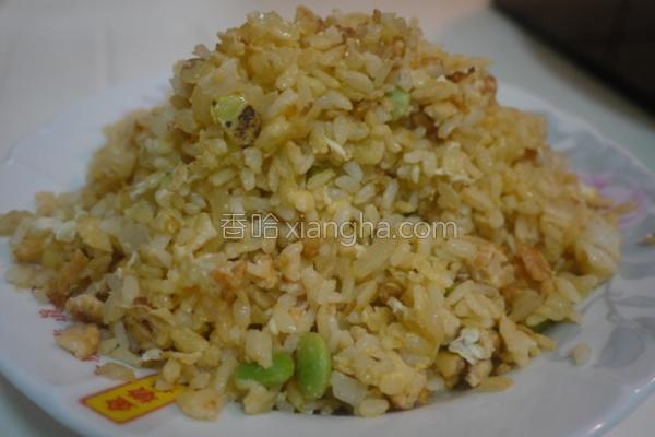 鲑鱼蛋炒饭的做法