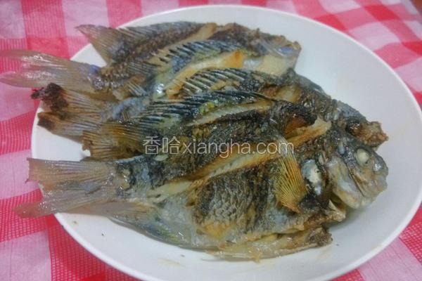 原味香煎鲷鱼
