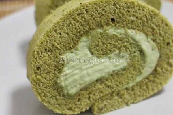 绿茶卷的做法