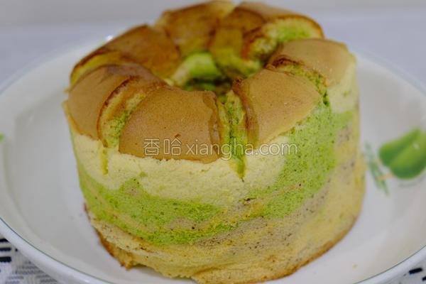 花漾戚风蛋糕的做法
