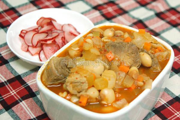 墨西哥式虎豆炖肉的做法
