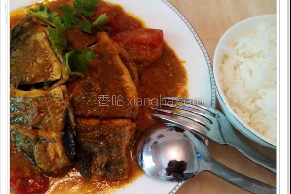姜黄咖哩鱼的做法