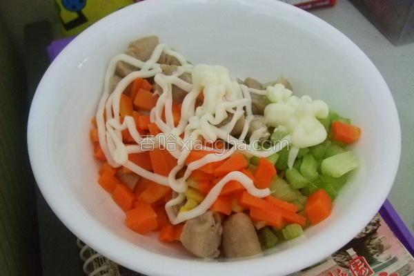 蔬菜沙拉饺的做法