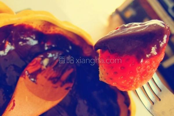 甜蜜巧克力锅的做法