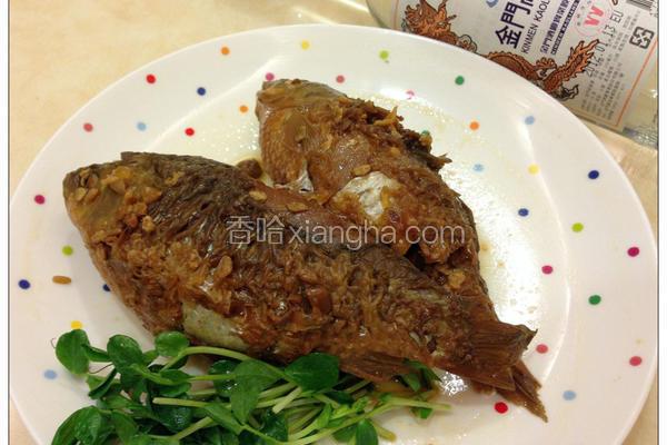 •ั黄豆酱鲫鱼