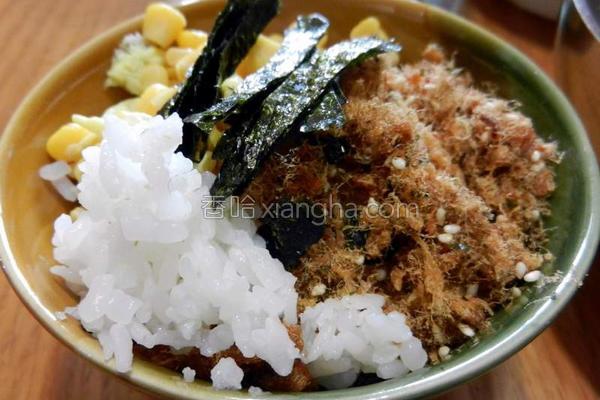 准备中餐寿司饭的做法