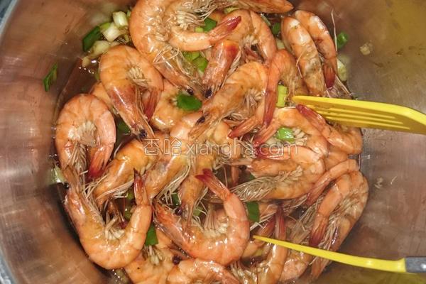 蒜味鲜虾的做法