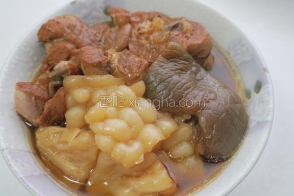 苦瓜炖脆瓜鸡汤的做法