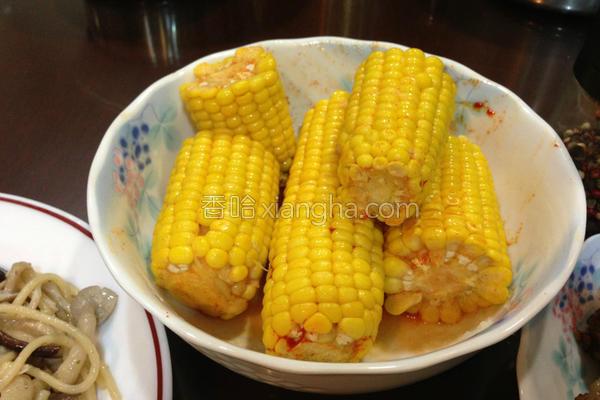 欧式玉米的做法