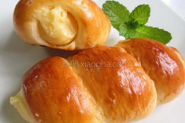 奶油卷面包的做法