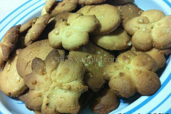 杏仁碎片饼干的做法