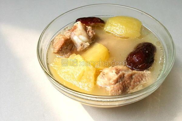 苹果排骨汤的做法