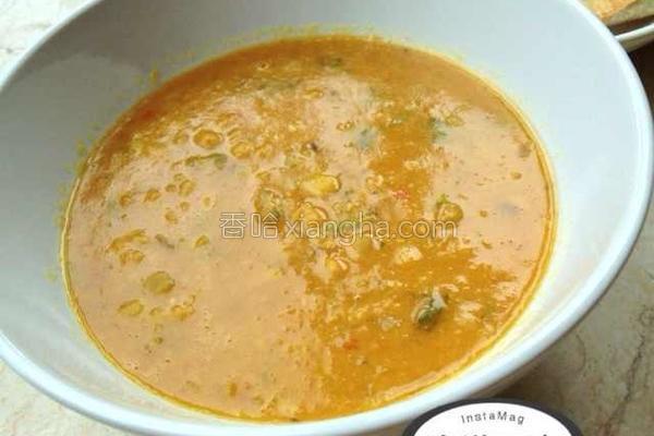 小扁豆咖喱的做法