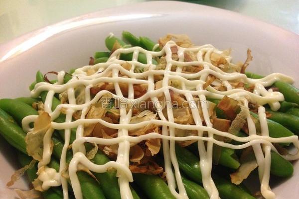 凉拌四季豆的做法