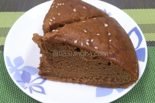 黑糖糕的做法