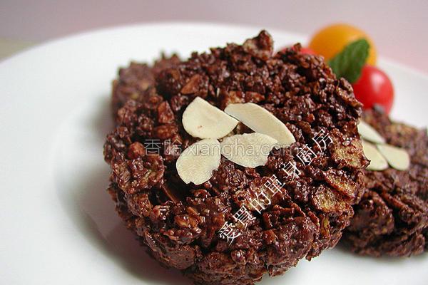 巧克力酥片的做法