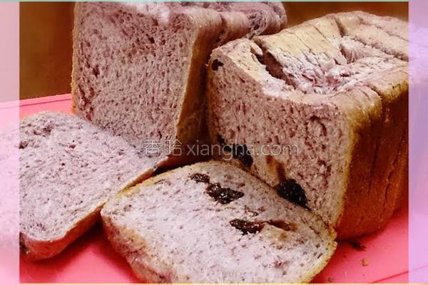 桑椹吐司面包的做法