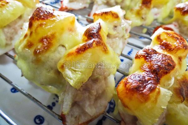 焗烤明虾的做法