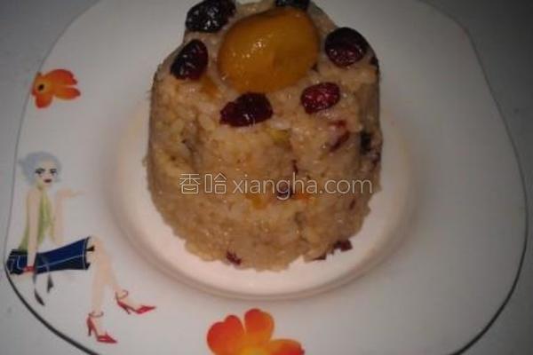 金柑蔓越梅甜米糕的做法