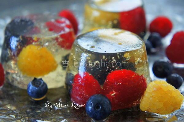 气泡酒莓果冻的做法