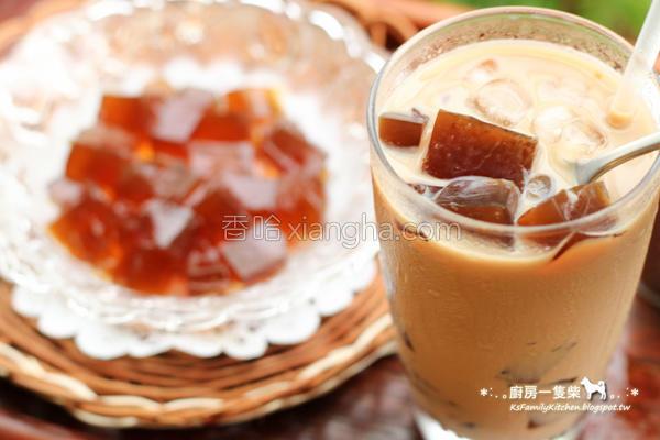 咖啡冻鲜奶茶的做法