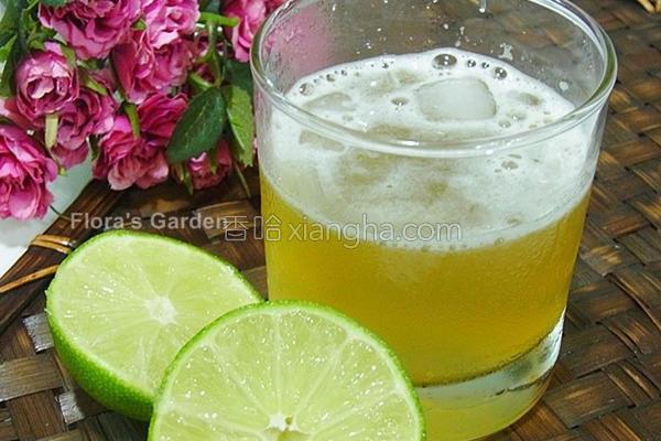翡翠柠檬茶的做法