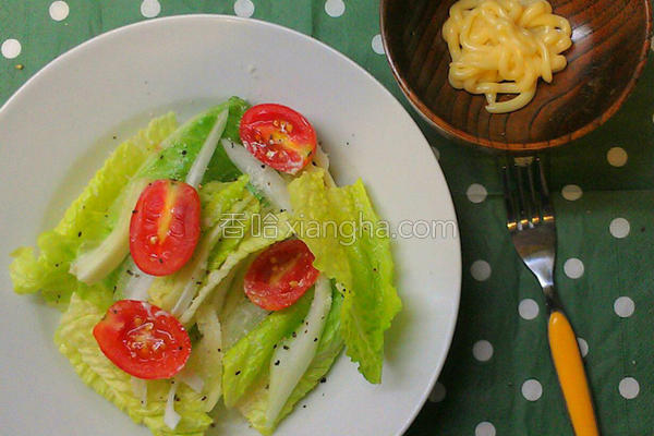 佐黄芥末沙拉的做法
