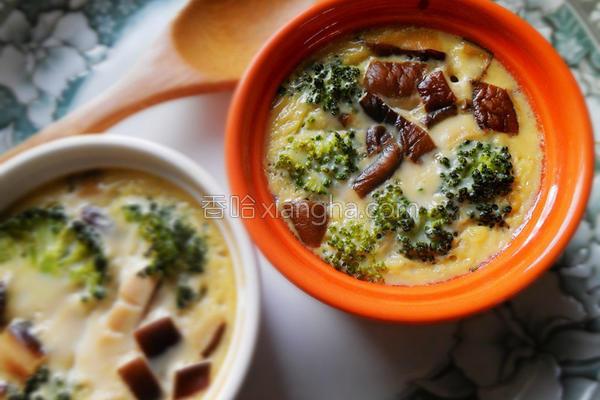 豆浆野菜烤布蕾的做法