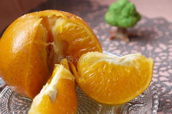 香烤橘子的做法