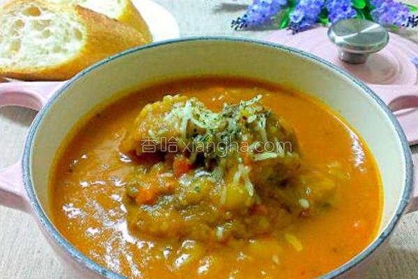番茄牛肉浓汤的做法