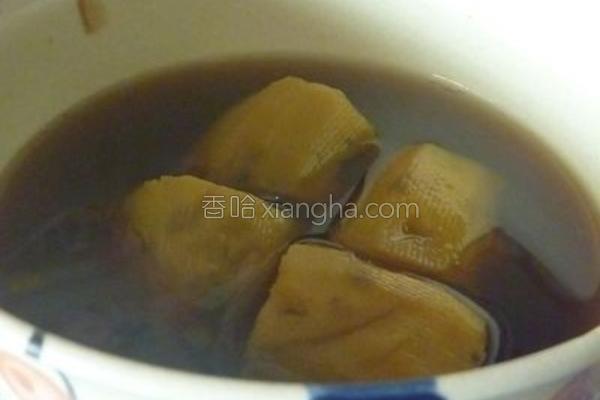 黑糖姜汁地瓜的做法