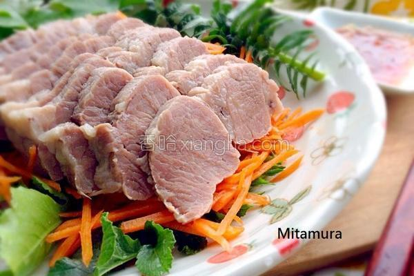咸猪肉片的做法