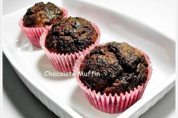 巧克力马芬蛋糕的做法