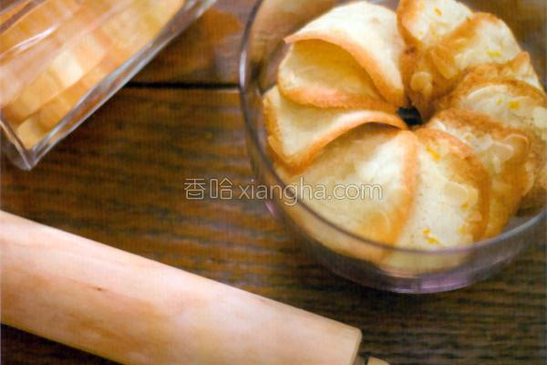 杏仁薄饼的做法