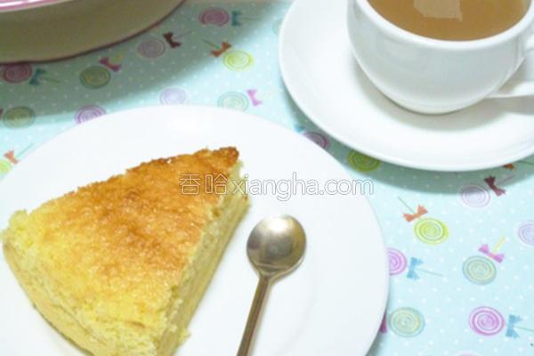 甜蜜香柠蛋糕的做法