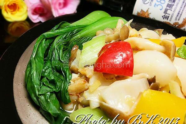 酒香百合炒蟹肉的做法