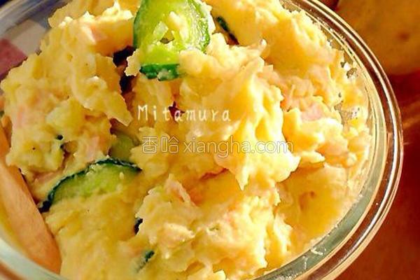 日式马铃薯蛋沙拉的做法