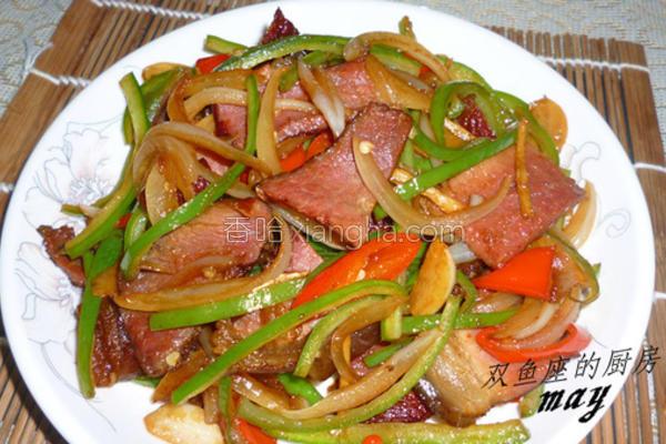 湘炒腊肉的做法
