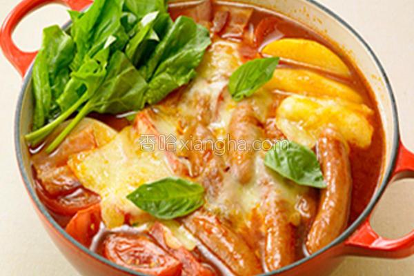 番茄锅的做法